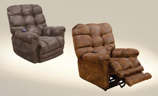 Oliver Power Lift Recliner w/ Dual Motor & Extended Ottoman