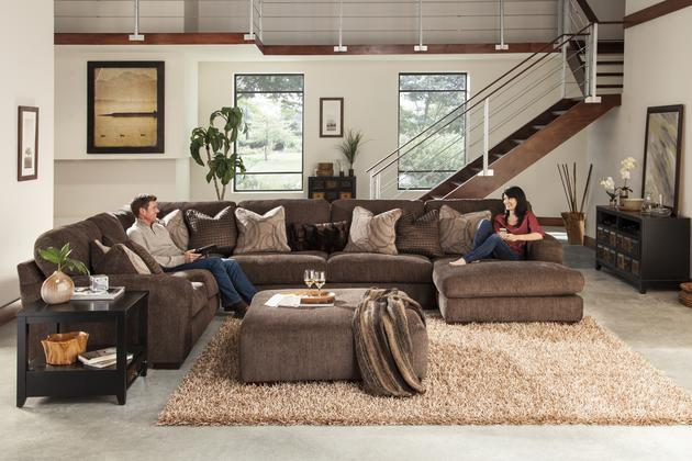 Catnapper Serena-Sectional LSF Loveseat