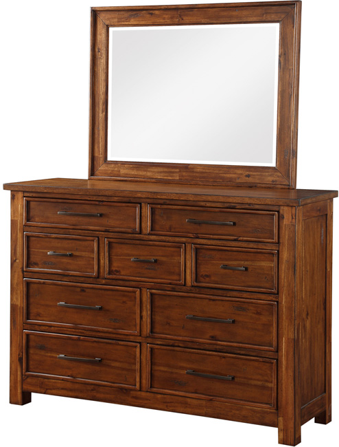 Chromcraft 9 Drawer Dresser