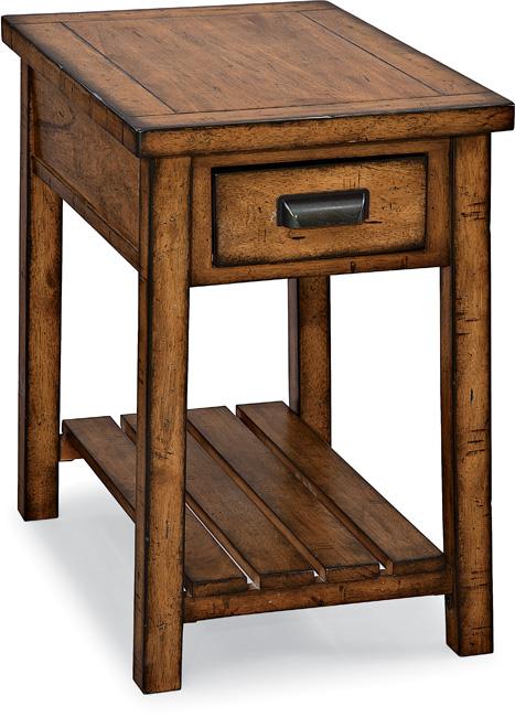 Chromcraft Chairside Table