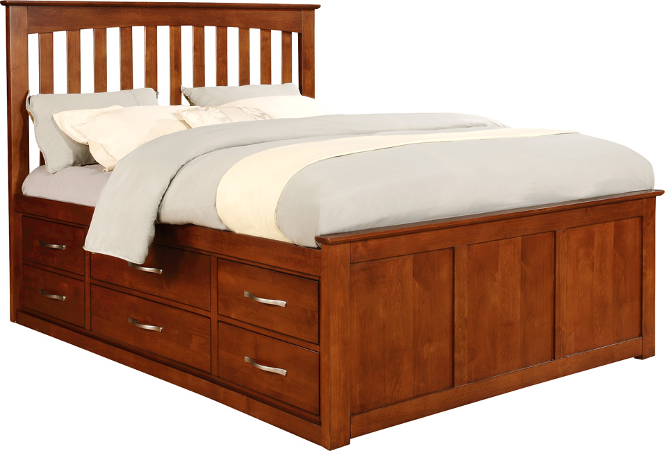 Chromcraft Queen Pedestal Footboard