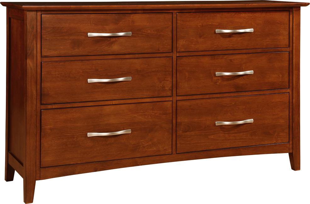 Chromcraft 6 Drawer Dresser
