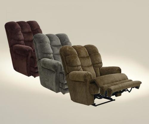 "Jackson Furniture Power ""Lay Flat"" Recliner w/Ext Otto"