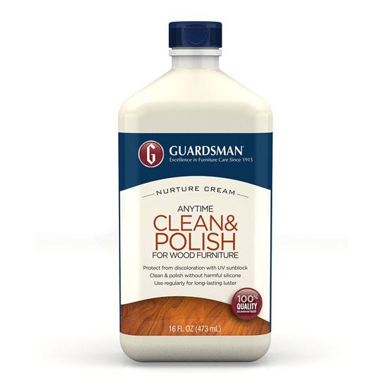 Anytime Clean & Polish Wood Cream, 16.9 fl. oz.