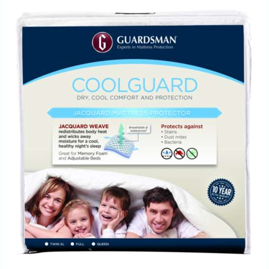GUARDSMAN® COOLGUARD® QUEEN - FITS UP TO 20