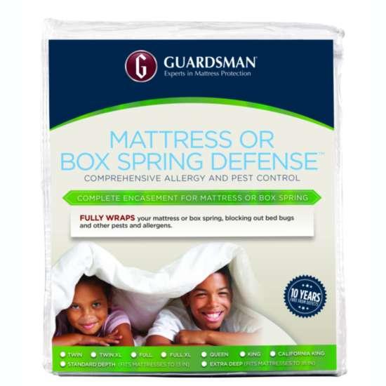 GUARDSMAN® MATTRESS OR BOX SPRING DEFENSE™ - FULL 18 IN