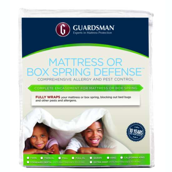 GUARDSMAN® MATTRESS OR BOX SPRING DEFENSE™ - TWIN - FITS UP TO 20