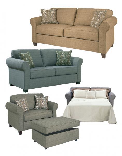 Hughes Furniture 1750 Cuddle Sleeper