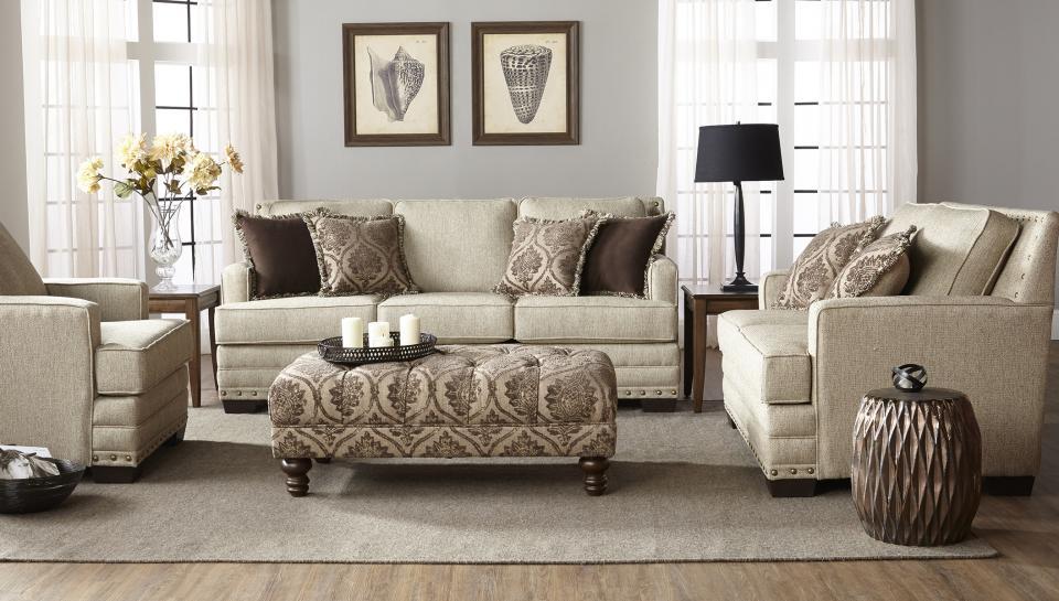 Hughes Furniture 10100 LOVESEAT