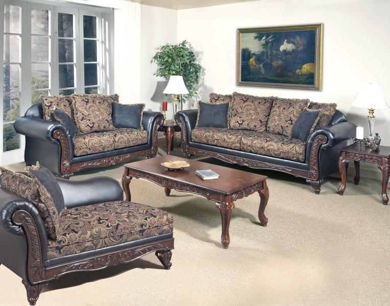 Hughes Furniture 7685 Chaise