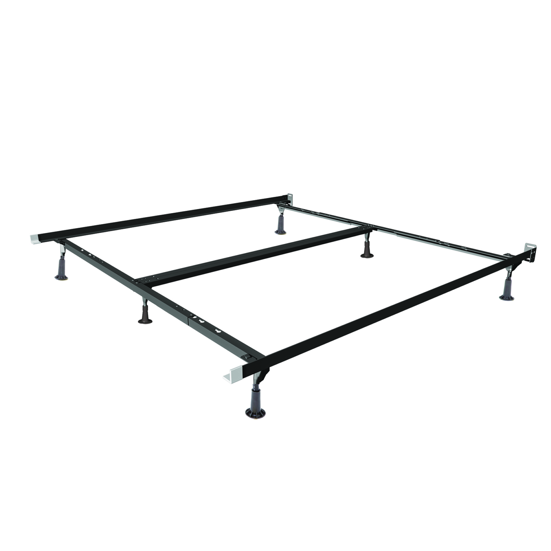 Mantua Insta-Lock I-CS374PG Queen/King/California King Deluxe Bed Frame with Glides