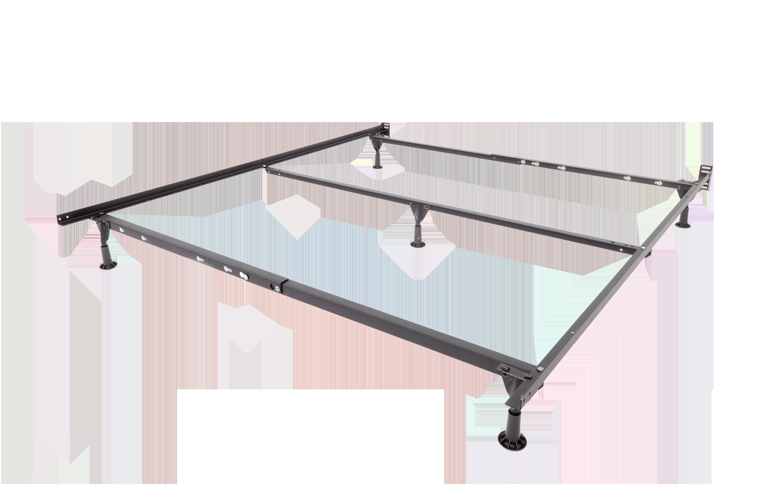Mantua Insta-Lock I-126Q Queen Standard Bed Frame with Glides