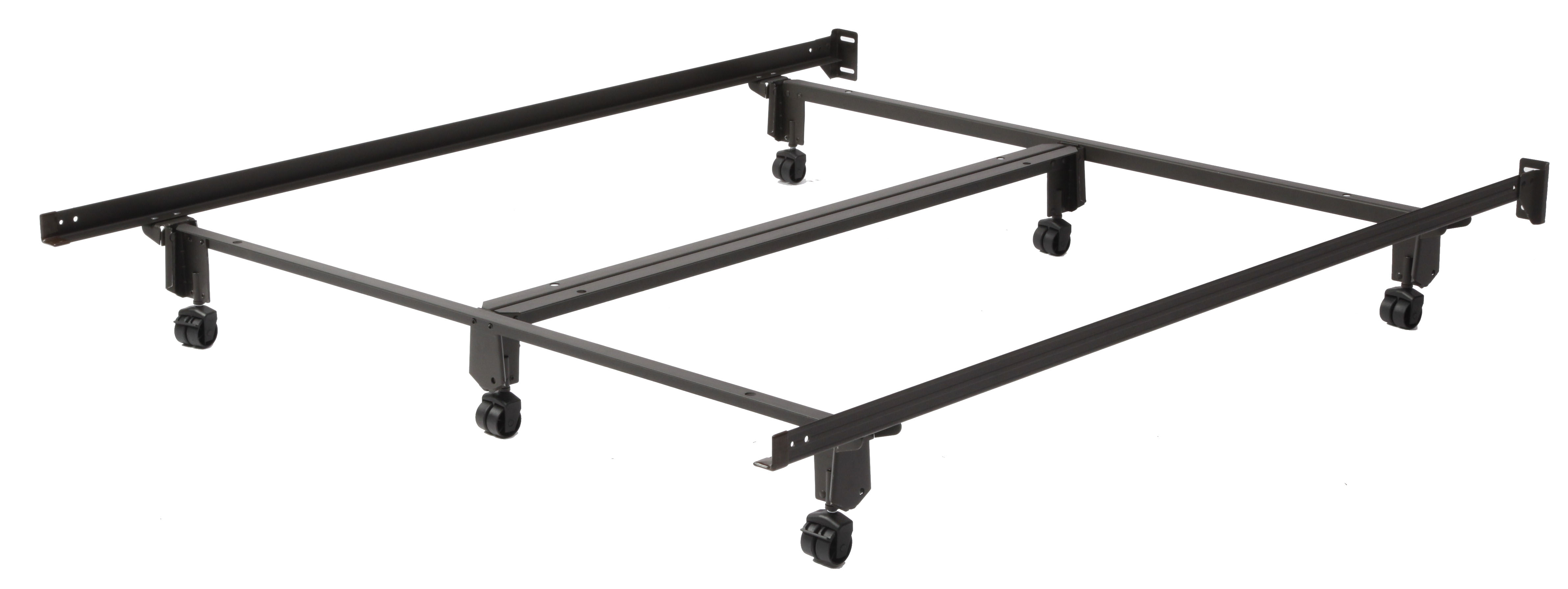 Mantua CraftLock 166R King Bed Frame with Rollers