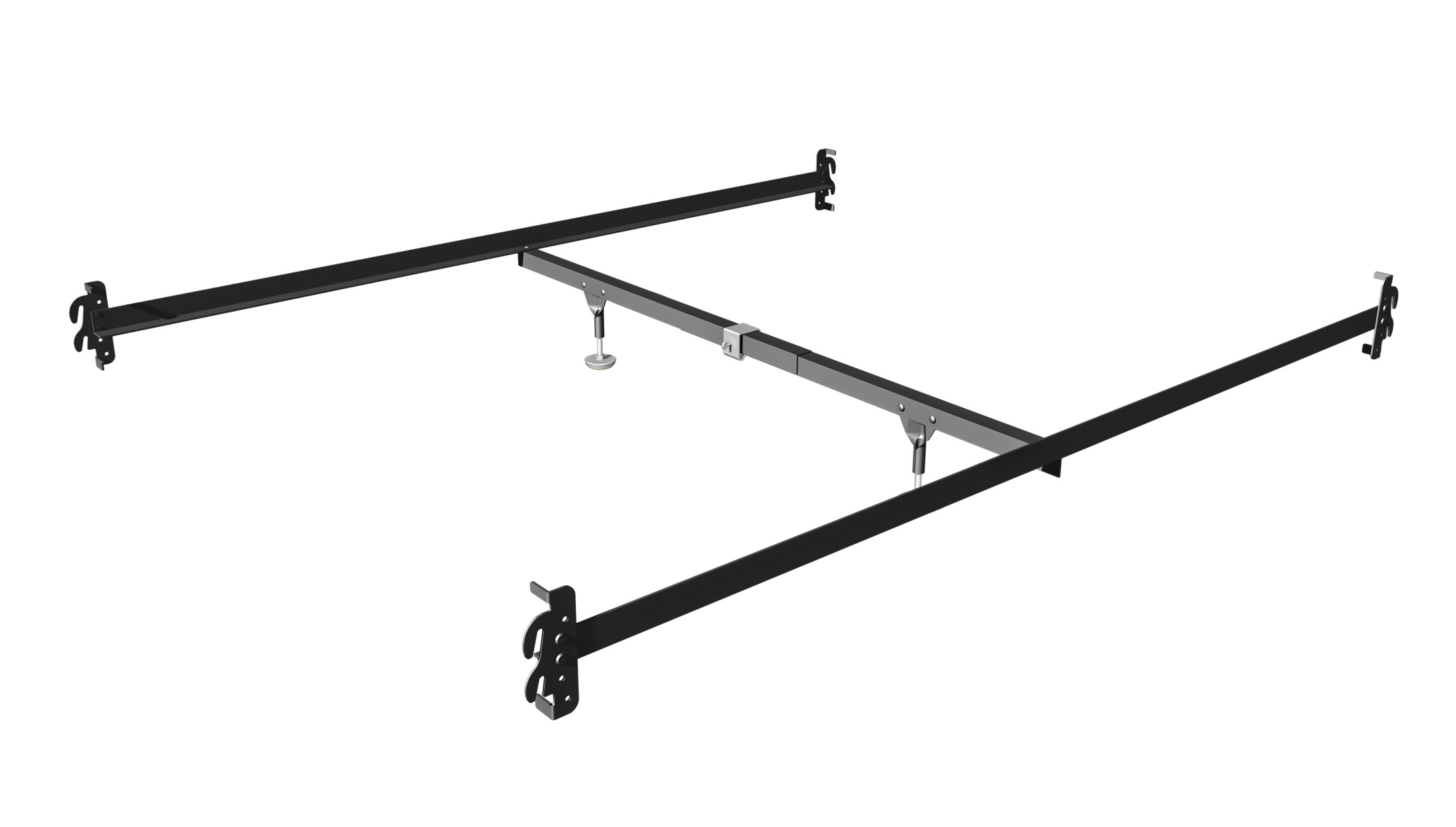 Mantua 583XR Hook-On Bed Rails for Queen Beds