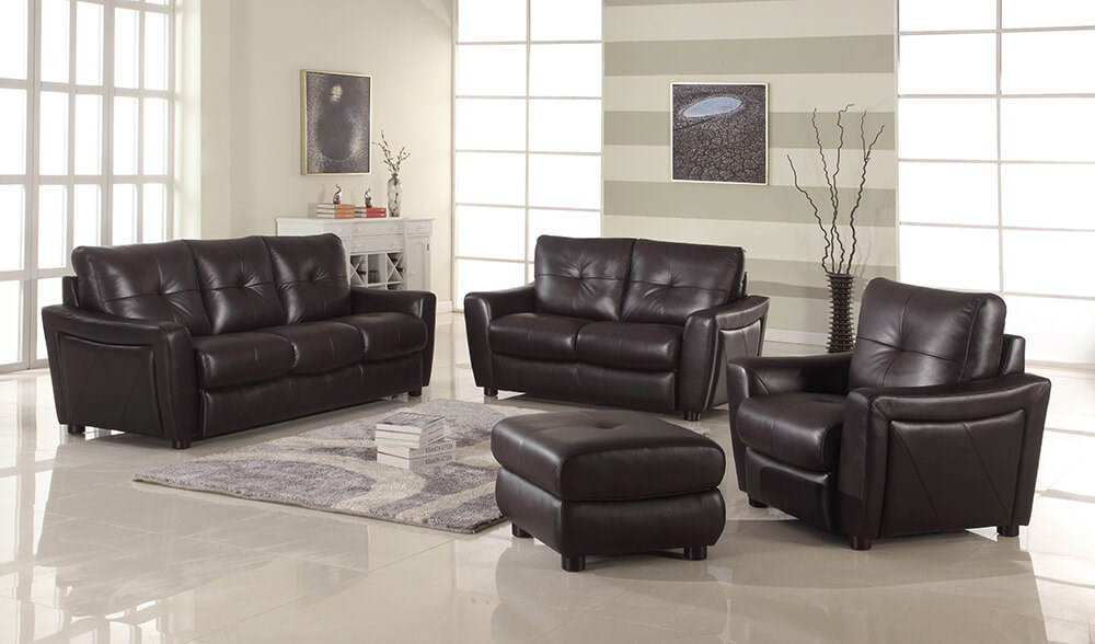 Leather Italia USA Redondo 2872