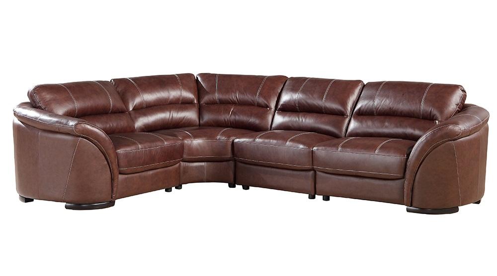 Leather Italia USA Norton Sectional 0262