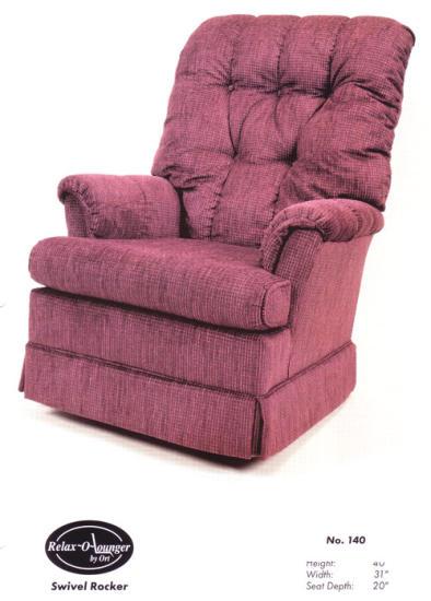 Ort Manufacturing 117 Striaght Leg Chair