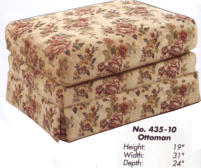 Model: 10/108 | Ort Manufacturing 10/108 Ottoman