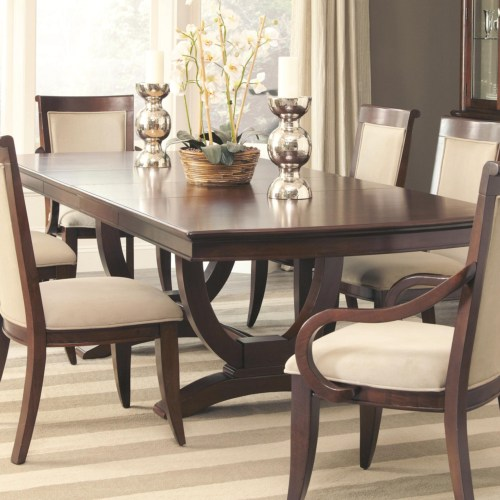 Model: 105441 | Coaster Alyssa Trestle Dining Table