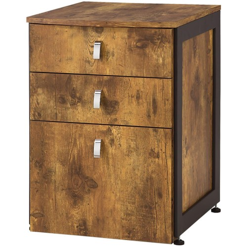Coaster Estrella File Cabinet with 3 Drawers