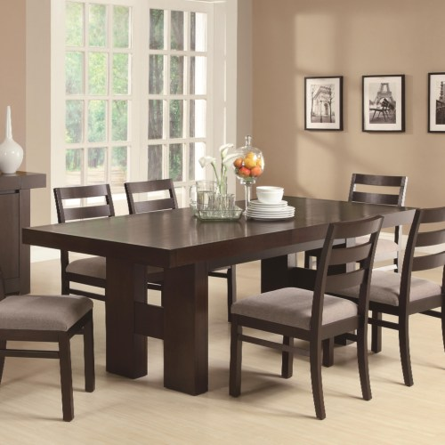 Coaster Dabny Dining Table with Pull Out Extension