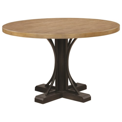 Coaster Bishop Round Pedestal Dining Table