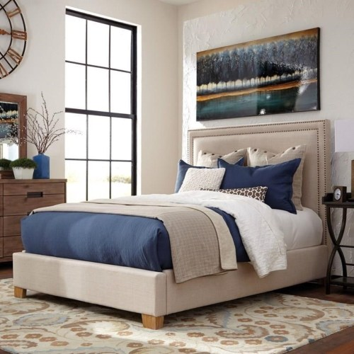 Coaster Madeleine II Upholstered King Bed
