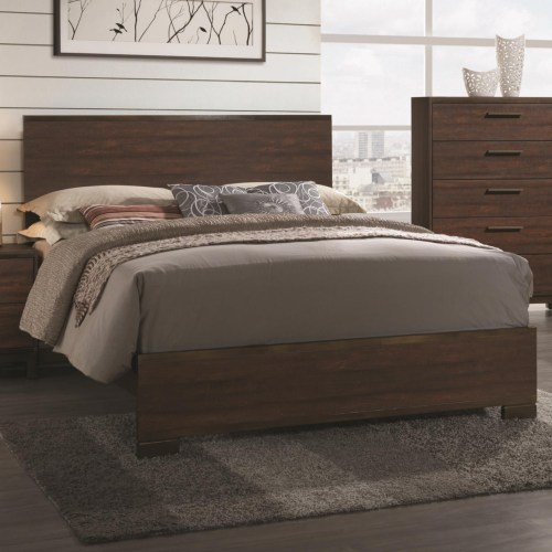 Coaster Edmonton California King Bed with Wood Headboard