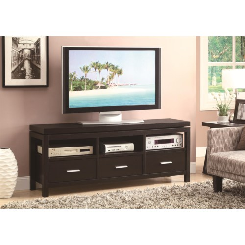 Coaster TV Stands Contemporary TV Console