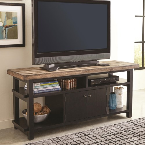 Coaster Wylder TV Rustic Two-Tone TV Stand