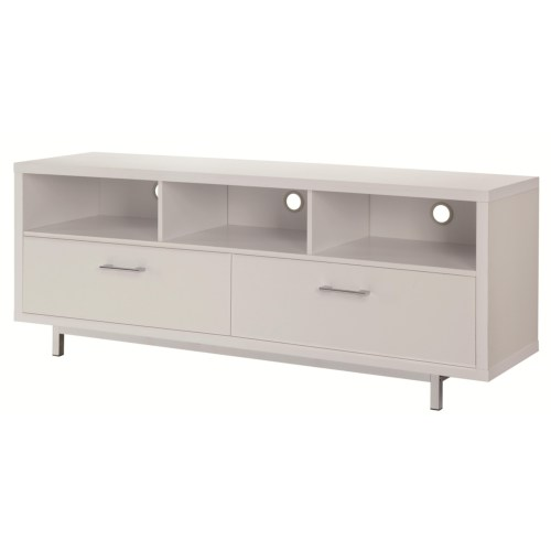 Coaster Entertainment Units Low TV Console w/ Metal Base