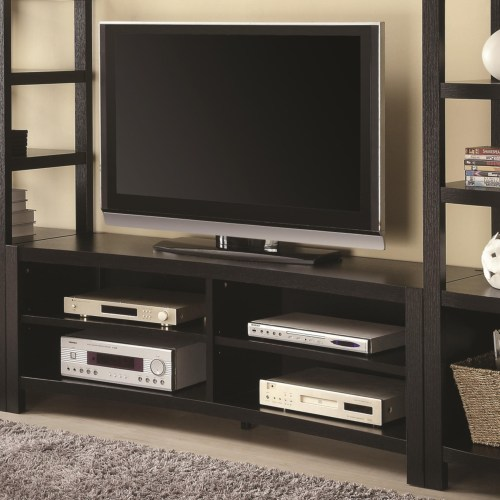Coaster Entertainment Units Inverted Curved Front TV Console