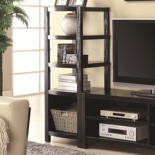 Coaster Entertainment Units Curved Front Media Tower