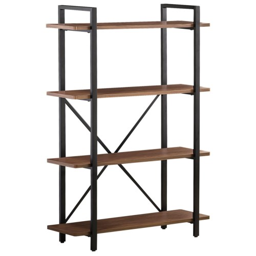 Coaster Bookcases Industrial Style Bookcase with 4 Shelves