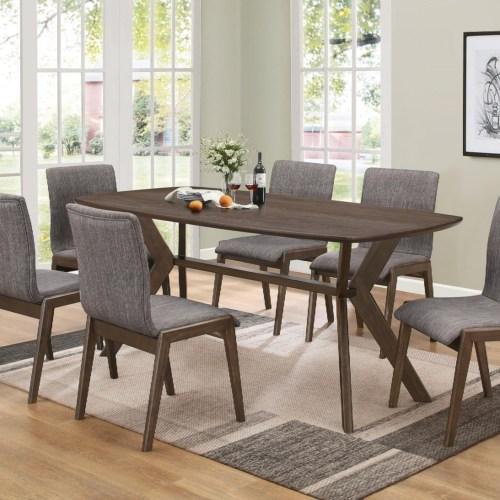 Coaster - 107191 - McBride Retro Dining Room Table   Reese ...