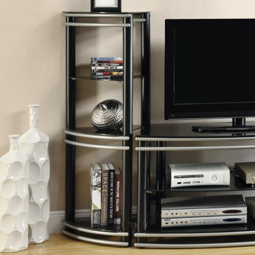 Coaster Entertainment Units Set of 2 Corner Media Towers