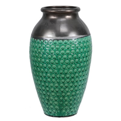 Crestview Collection CERAMIC VASE, PATTERN ON BODY