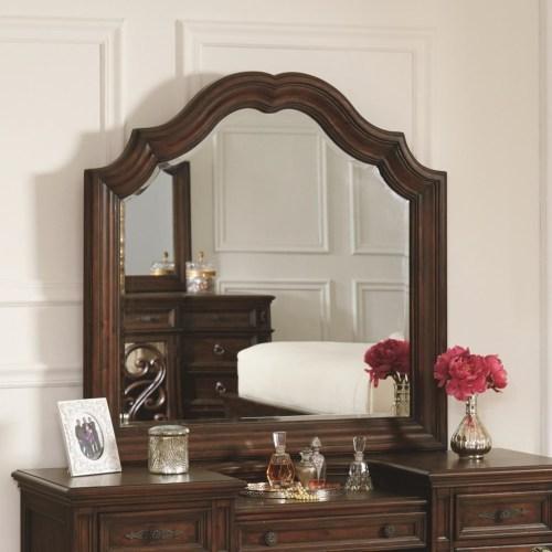 Coaster Ilana Vanity Mirror with Wood Frame