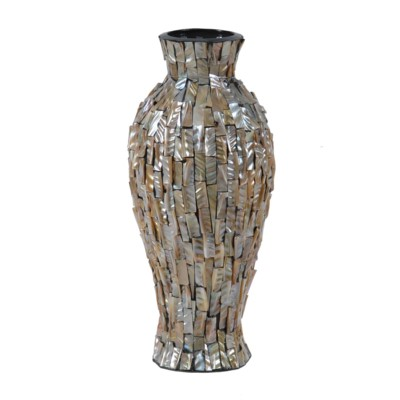 Crestview Collection CERAMIC VASE WITH MOP