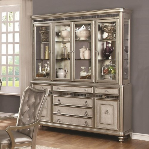 Coaster Danette Server and China Cabinet with LED Lighting