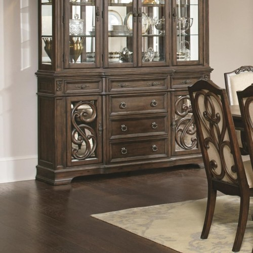 Coaster Ilana Traditional Buffet with Concealed Storage