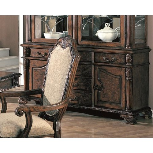 Coaster Saint Charles Traditional Buffet with 6 Drawers