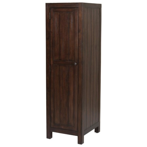Coaster Lanchester Left Wardrobe Cabinet with Jewelry Tray
