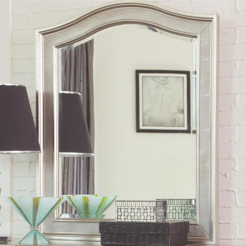 Coaster Bling Game Vanity Mirror with Arched Top