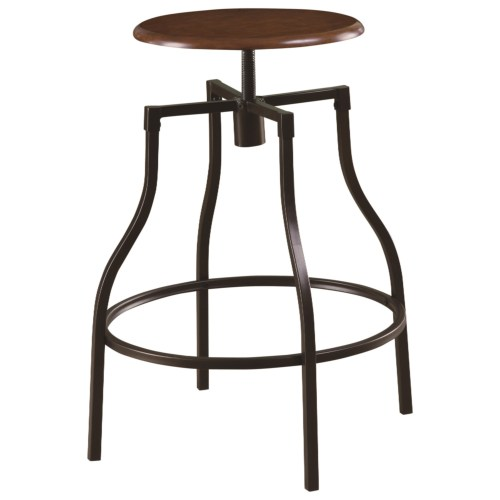 Admirable Coaster 100199 Dining Chairs And Bar Stools Adjustable Cjindustries Chair Design For Home Cjindustriesco
