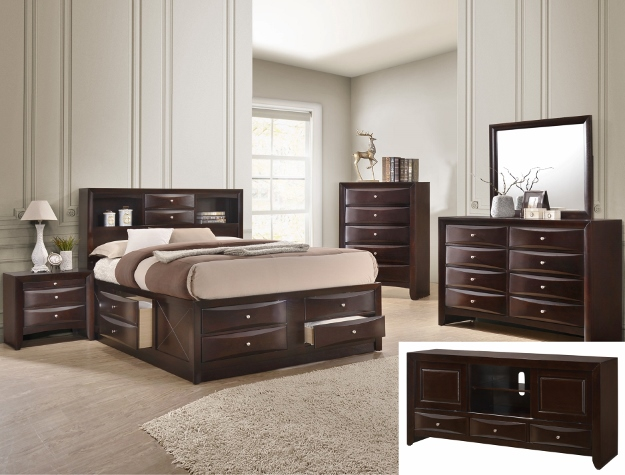 Crown Mark EMILY STORAGE DARK C