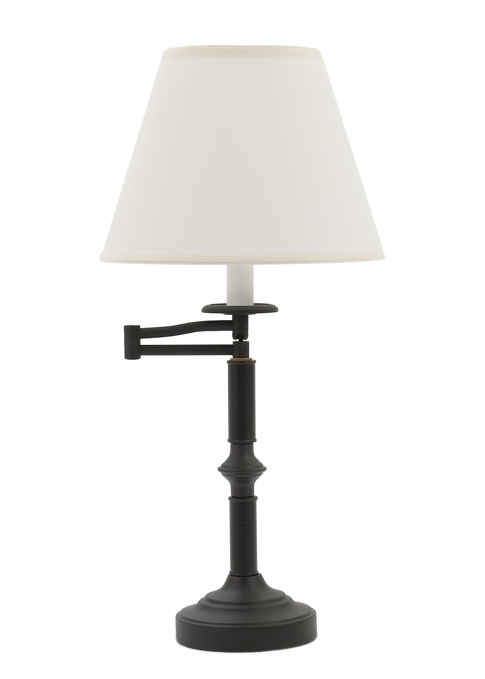 (1005) Black Swing Arm Iron Table Lamp