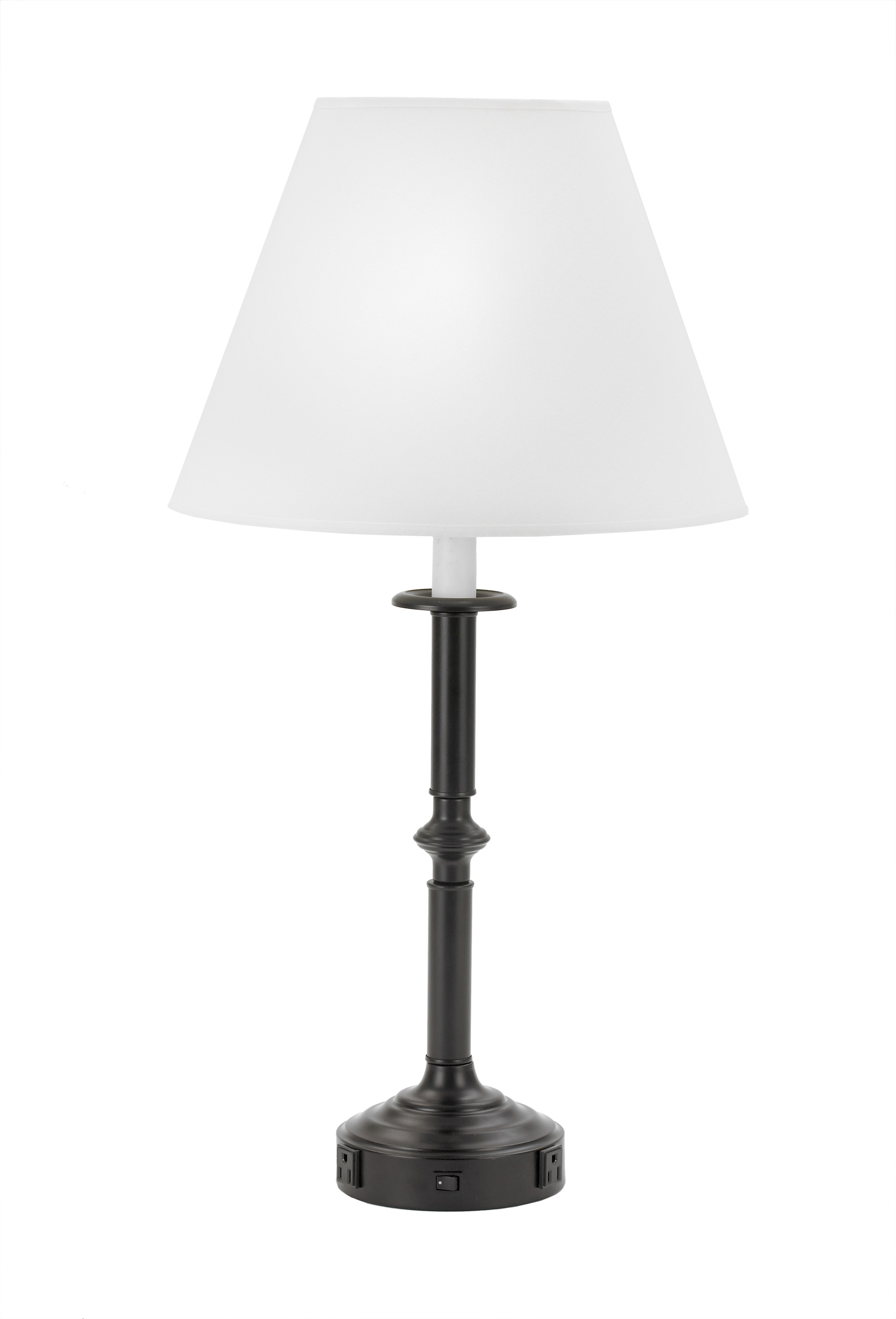 (1004XX) Black Iron Table Lamp