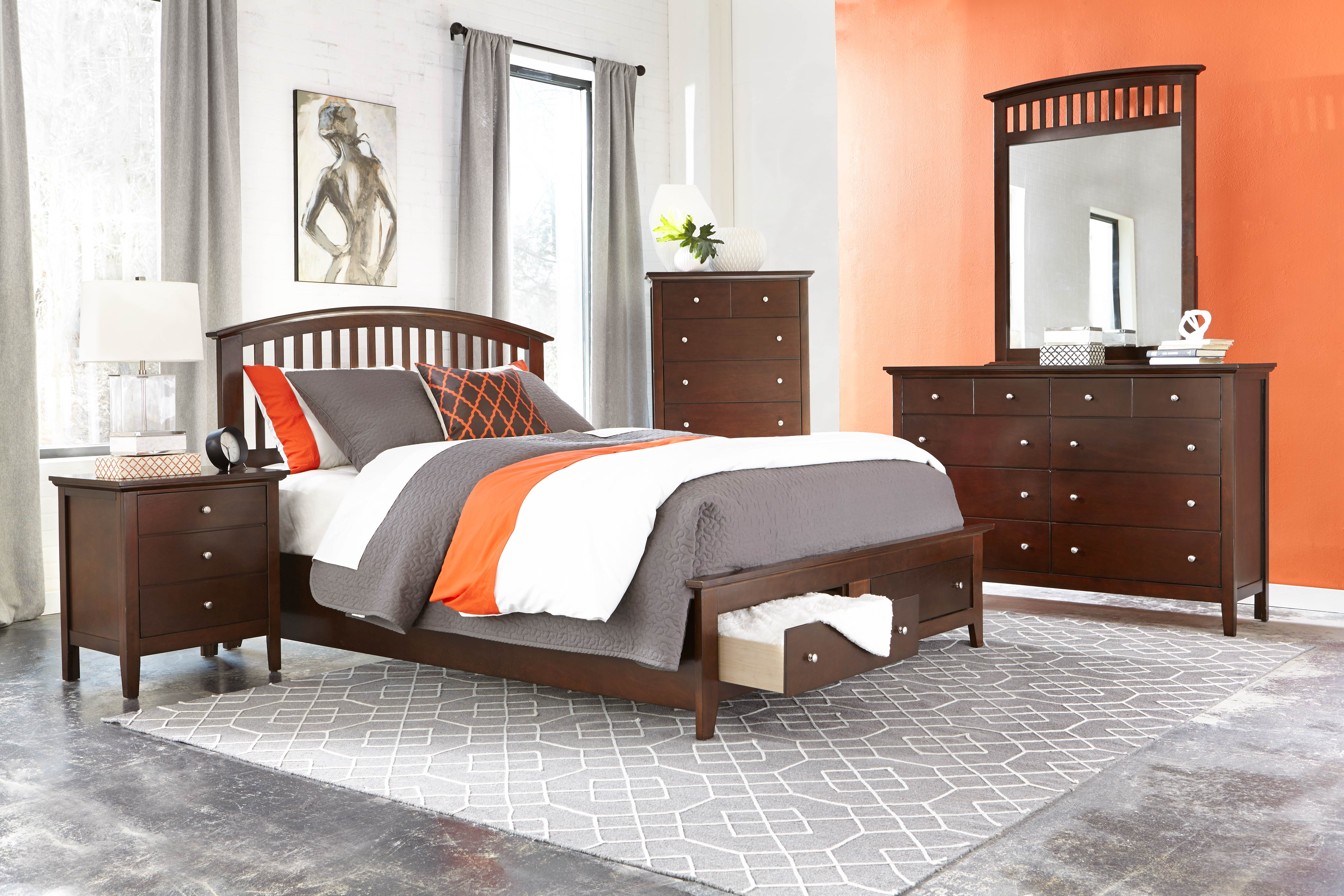 AWF C8237A-6PC-NS 6 PC Bedroom