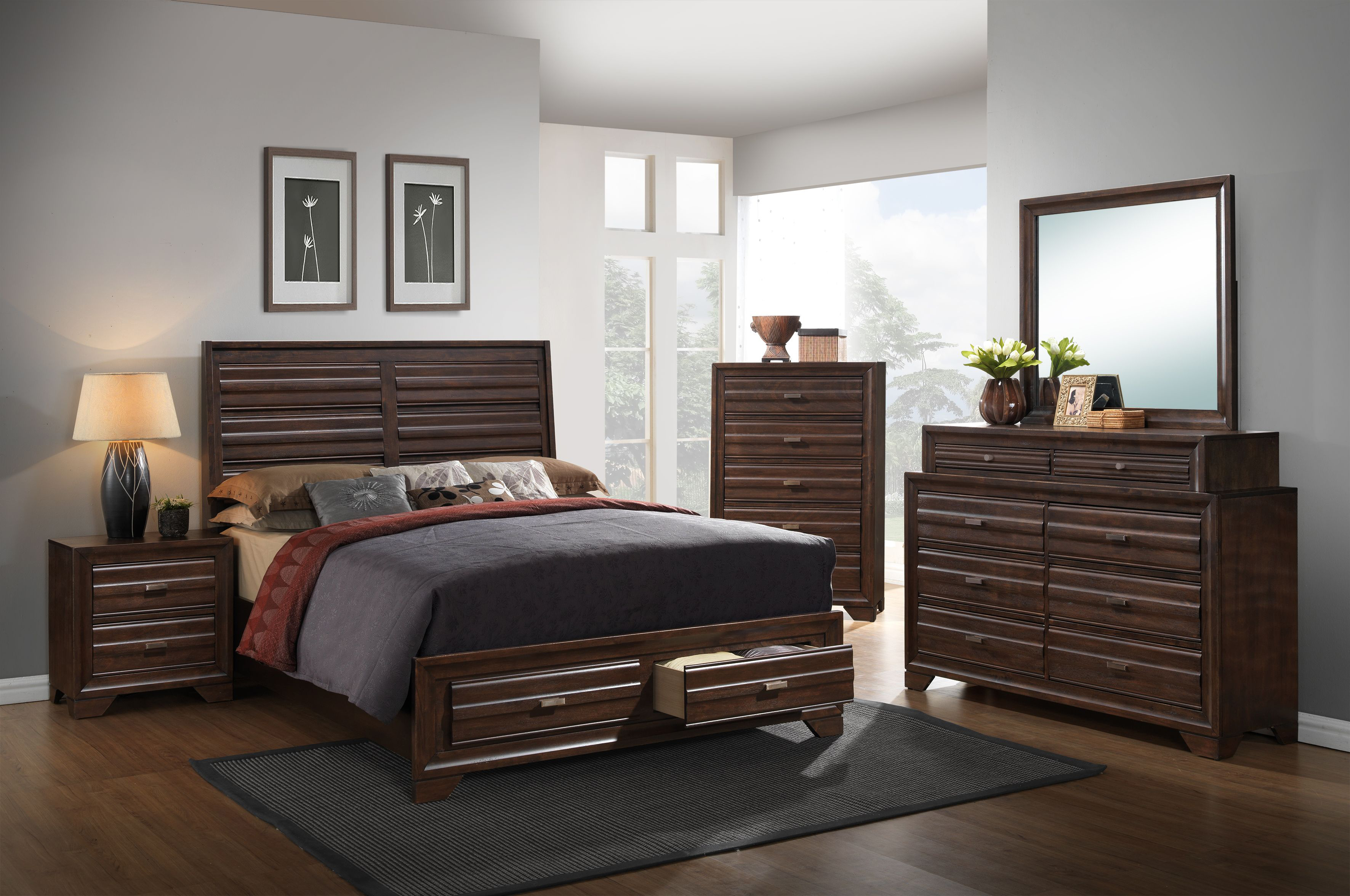 AWF C6236A-6PC-NS 6 PC Bedroom